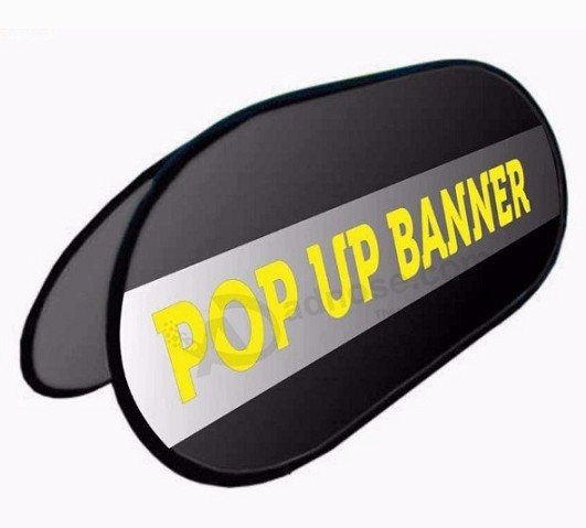 Cheap Customized Printing Logo Pop Out A Frame Banner