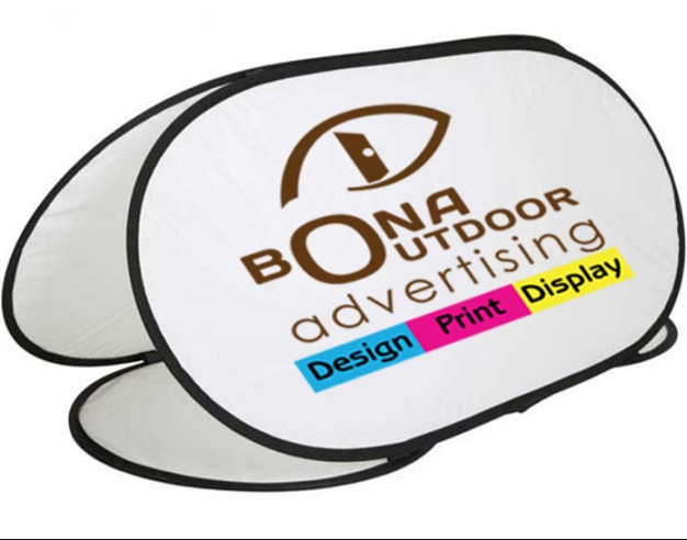 Polyester A Frame Pop Out Banner For Commercial