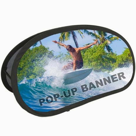 Printing Outdoor Custom Logo Pop Out A frame Banner