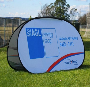 Outdoor Advertising Printing A Frame Pop Out Banners For Display
