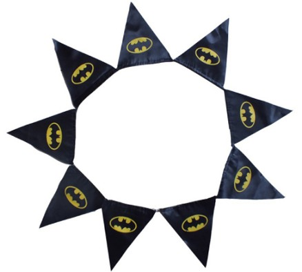 Custom Printed Polyester Advertising String Triangle Flag