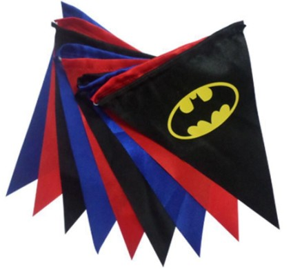 Mini String Flag Outdoor Polyester Fabric Advertising Bunting